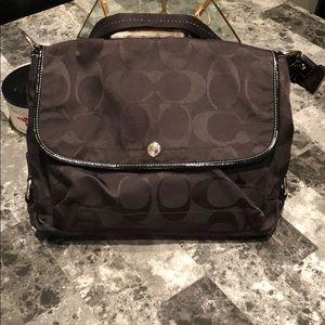 Coach laptop/book bag